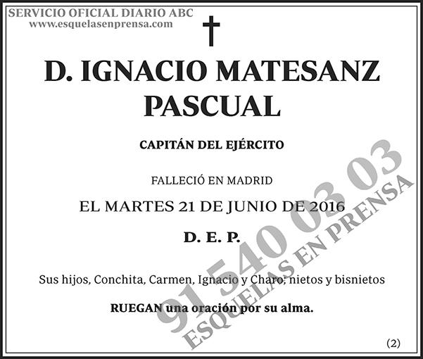 Ignacio Matesanz Pascual
